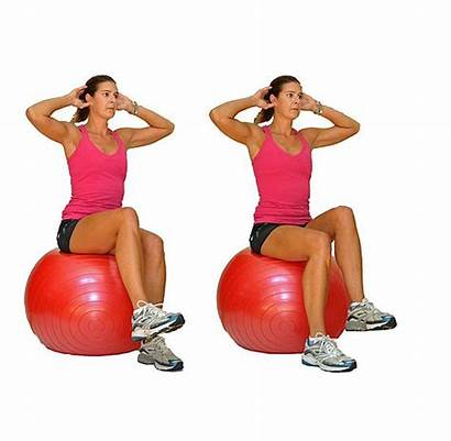 Ball Stability Core Balance Exercise Beginner Workout