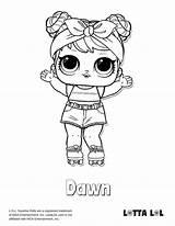 Lol Coloring Pages Doll Confetti Dawn Pop Surprise Lotta Series Printable Dolls Colouring Boys Unicorn Lottalol Sheets Queen Boy Tsgos sketch template