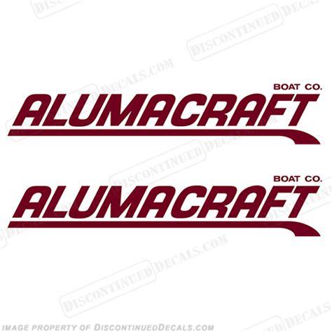 Alumacraft Boats Logo by Alumacraft Boat Logo Decals Style 3 Set Of 2