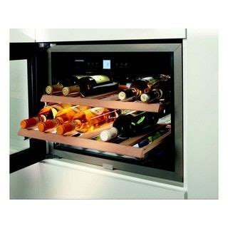 liebherr stainless steel   built  wine cabinet wine cabinets kitchen large appliances
