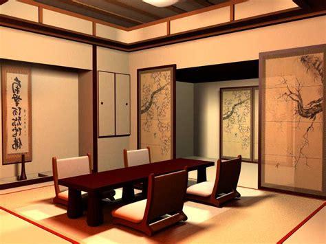 menata interior ruang tamu bergaya jepang  menawan