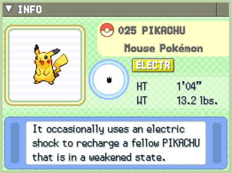 How To Catch Pikachu In Pokmon Platinum Diamond And Pearl