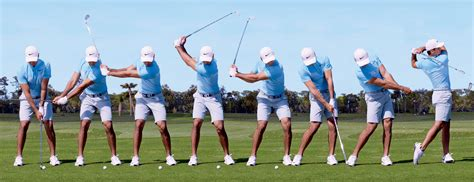 Golf Swing Sequence by Swing Sequence Jason Day Australian Golf Digest