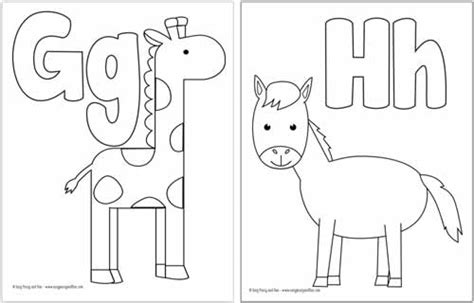 printable alphabet coloring pages easy peasy  fun