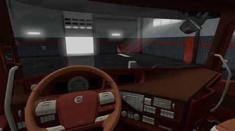 volvo fh   scs leather interior  interior mod