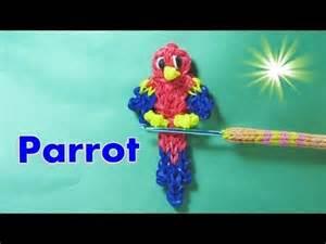 Parrot Rainbow Loom Charm