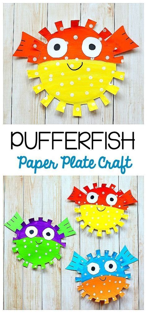 25+ Best Ideas About Paper Plate Fish On Pinterest