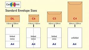 Envelopes printing company uk for Letter size envelope measurements