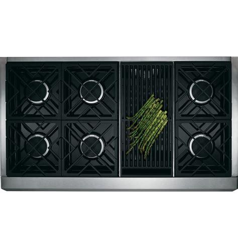 zdpnrpss monogram  dual fuel professional range   burners  grill natural gas