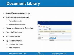 utilizing sharepoint for project management With document control library