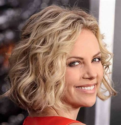 medium curly bob ideas  pinterest medium