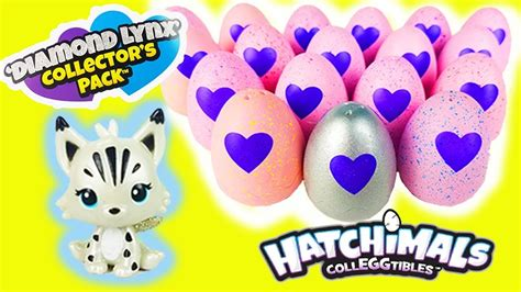 Hatchimals With Diamond Lynx Collector's Pack And Lol