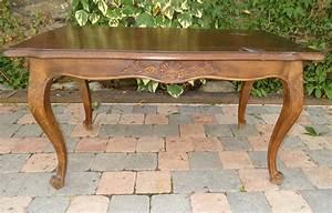Table Basse Ancienne : table basse ancienne en ch ne plateau cir bois pi tement ~ Dallasstarsshop.com Idées de Décoration