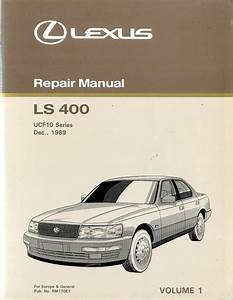 1990 Lexus Ls 400 Chassis  U0026 Body Repair Manual English