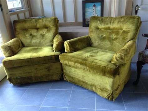 ugly chairs furniture couches lady velvet pair into mid century chair going am sofa recliner instead turn crazy living room