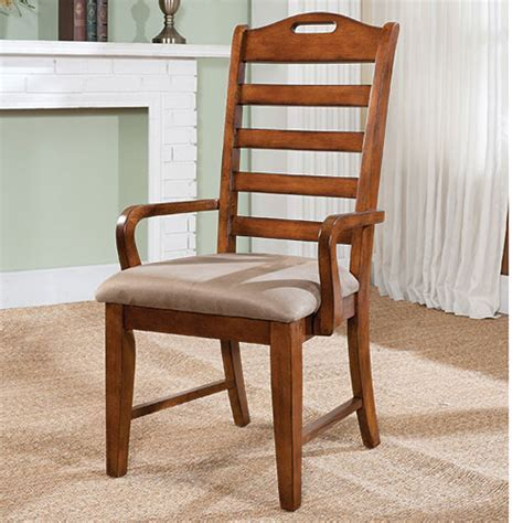 209619 World Imports Colorado Ladder Back Arm Chair