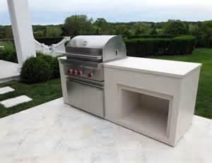 outdoor grill countertops outdoor kitchen wolf grill unit trueform decor