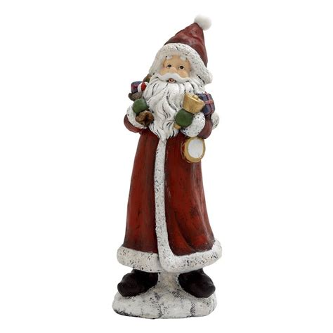 shop woodland imports resin tabletop santa figurine at