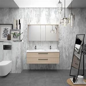 meubles de salle de bain cedam gamme zoe decor beige With meuble salle de bain beige
