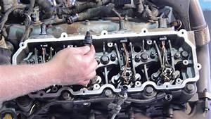 Ford 6 0 Liter Powerstroke Fuel Injector Installation