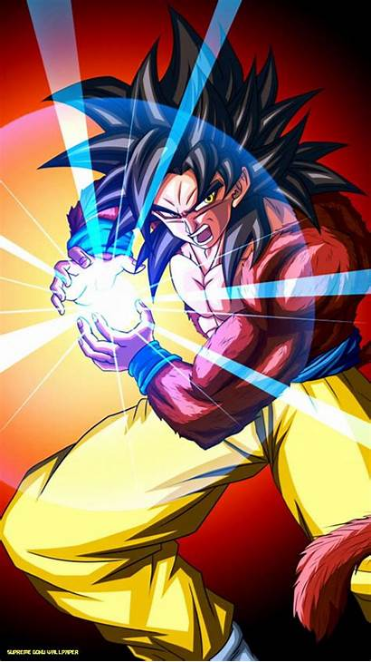 Iphone Goku Wallpapers Supreme Saiyan Dbz Dragon