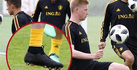 Kevin De Bruyne Shows Off All-New Nike Phantom Vision ...