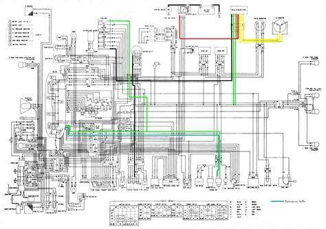 Honda Gl 1500 Wiring Diagram by Honda Gl1500 Wiring Diagram Honda Auto Wiring Diagram