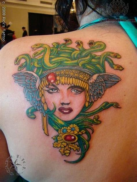 medusa tattoos page