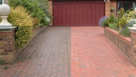 driveway cleaning paving clean solutions