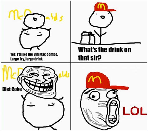 Troll Face Memes - troll face mcdonald by sam lim on deviantart
