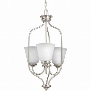 Progress lighting keats collection light brushed nickel