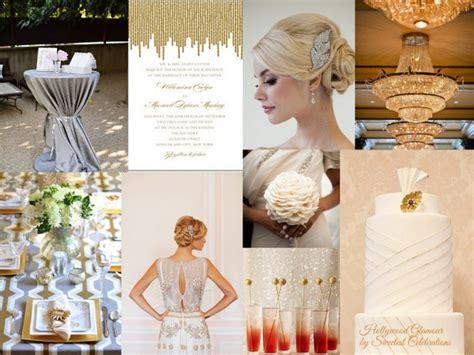 Hollywood Glamour Wedding Inspiration