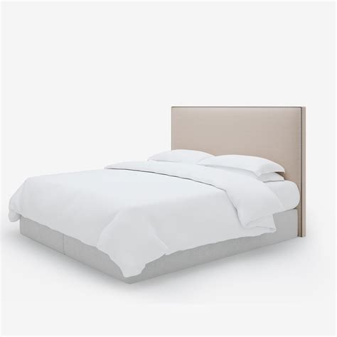 Studded Headboard by Simply Studded Headboard Th2studio Luxurious Studded Bed