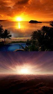 Beautiful Sunset, Above the Clouds | 3d sunset | Pinterest
