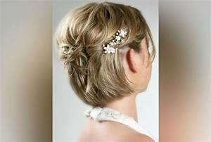 Coiffure Mariage Cheveux Court : coiffure mariage long oh moving ~ Dode.kayakingforconservation.com Idées de Décoration