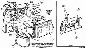 33 Ford F150 Headlight Assembly Diagram