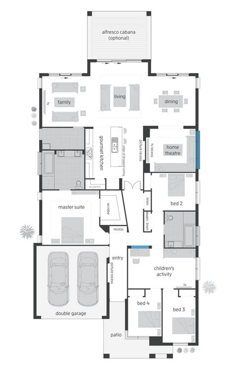 beach house grange rear alfresco floor plan floor plans house floor plans beach house
