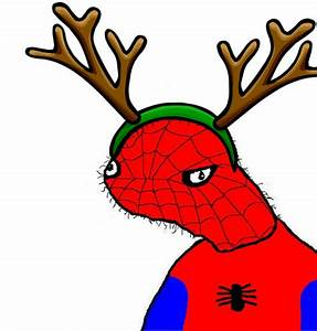 spoderman christmas blank template imgflip With spoderman template