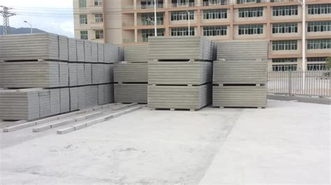 eco friendly lightweight insulated precast eps concrete cement sandwich wall panels interior