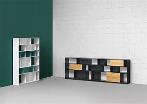 Bibliothèque Murale Bois : biblioth que ouverte murale composable en bois collection ~ Premium-room.com Idées de Décoration