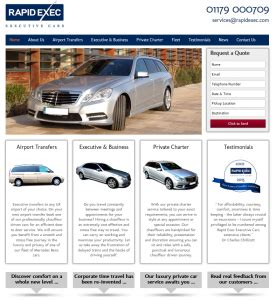 The Launch Of New Website For Rapid Exec