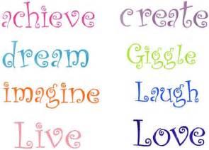 Large Word Stencils