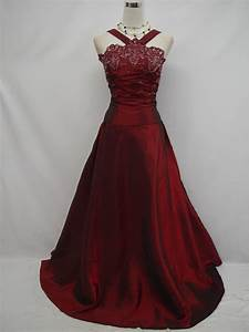 Cherlone plus size satin burgundy prom ball gown wedding for Burgundy wedding dresses plus size
