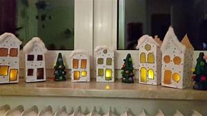 Basteln Mit Milchtüten : weihnachtsstadt aus milcht ten basteln mit kindern weihnachten upcycling quatsch ~ Frokenaadalensverden.com Haus und Dekorationen