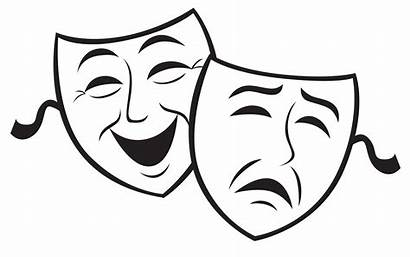 Comedy Clipart Masks Tragedy Clip