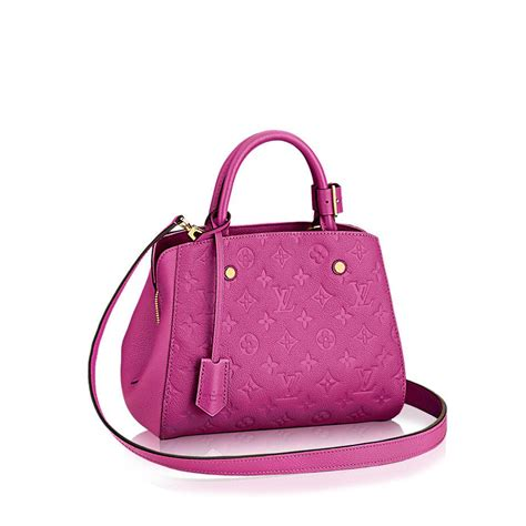 montaigne bb monogram empreinte leather handbags