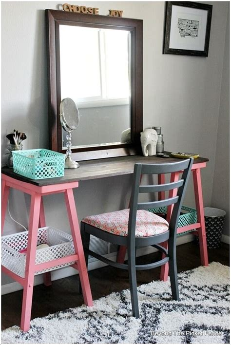 cheap vanity desk with mirror diy vanity mirror with lights for bathroom and makeup