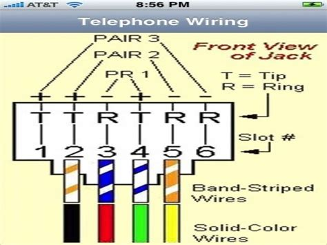 rj11 to rj45 cable wiring diagram wiring diagrams