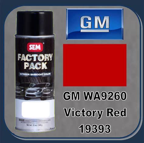 gm paint code wa9260 sem 19393 sem factory pack basecoat gm paint code wa9260