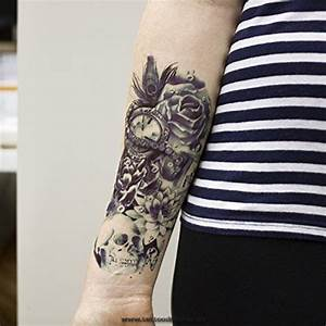 Rosen Tattoos Schwarz : 20 best fasching tattoos images on pinterest anchor tattoos anker tattoo and arm band tattoo ~ Frokenaadalensverden.com Haus und Dekorationen